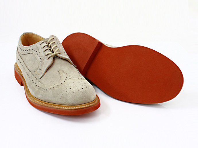 Mark McNairy Suede Longwing Brogue - Stone<img class='new_mark_img2' src='//img.shop-pro.jp/img/new/icons47.gif' style='border:none;display:inline;margin:0px;padding:0px;width:auto;' /> 02