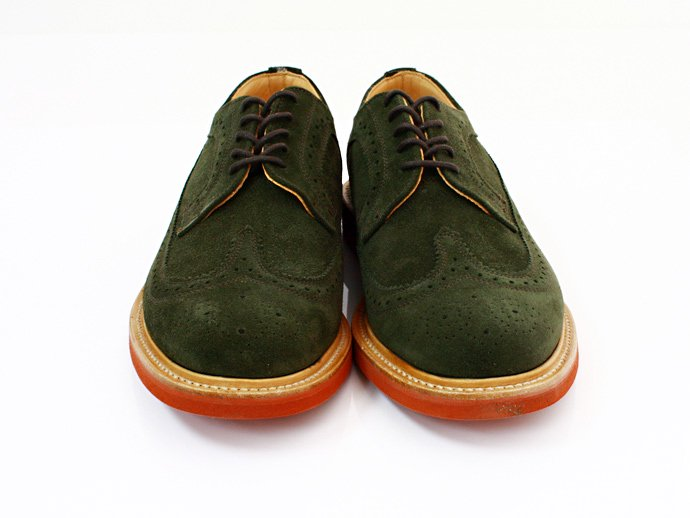 Mark McNairy Suede Longwing Brogue - Green<img class='new_mark_img2' src='//img.shop-pro.jp/img/new/icons47.gif' style='border:none;display:inline;margin:0px;padding:0px;width:auto;' /> 02