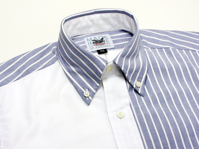 Mark McNairy Oxford Fun Shirt - New Blue Stripe/White<img class='new_mark_img2' src='//img.shop-pro.jp/img/new/icons47.gif' style='border:none;display:inline;margin:0px;padding:0px;width:auto;' /> 02