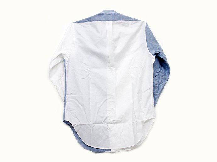 Mark McNairy Oxford Fun Shirt - Blue/White<img class='new_mark_img2' src='//img.shop-pro.jp/img/new/icons47.gif' style='border:none;display:inline;margin:0px;padding:0px;width:auto;' /> 02