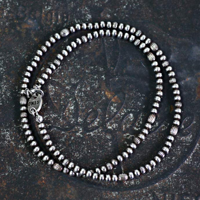 30725910 sinc / Silver Beads Necklace - Thin<img class='new_mark_img2' src='//img.shop-pro.jp/img/new/icons47.gif' style='border:none;display:inline;margin:0px;padding:0px;width:auto;' /> 01