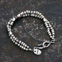 sinc / Silver Beads Bracelet - Double<img class='new_mark_img2' src='//img.shop-pro.jp/img/new/icons47.gif' style='border:none;display:inline;margin:0px;padding:0px;width:auto;' />