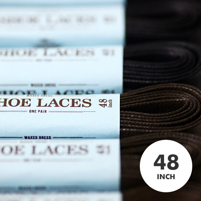 31207910 This is... / Waxed Dress Shoelaces ワックスドシューレース - 48インチ 01
