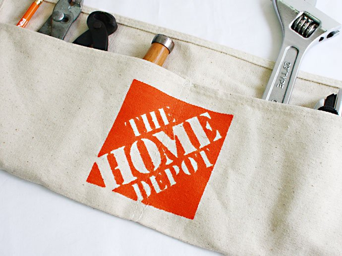 Other Brands THE HOME DEPOT / Canvas Work Apron<img class='new_mark_img2' src='//img.shop-pro.jp/img/new/icons47.gif' style='border:none;display:inline;margin:0px;padding:0px;width:auto;' /> 02