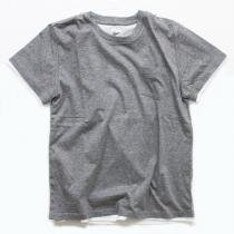 Other Brands go-getter / Layered Pocket T-shirts - Grey<img class='new_mark_img2' src='//img.shop-pro.jp/img/new/icons47.gif' style='border:none;display:inline;margin:0px;padding:0px;width:auto;' />