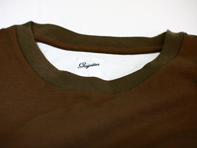 Other Brands go-getter / Layered Pocket T-shirts - Olive<img class='new_mark_img2' src='//img.shop-pro.jp/img/new/icons47.gif' style='border:none;display:inline;margin:0px;padding:0px;width:auto;' /> 02