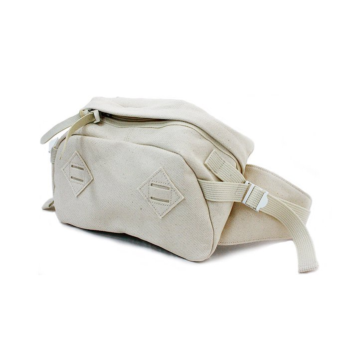 This is... / Canvas Waist Bag - Natural