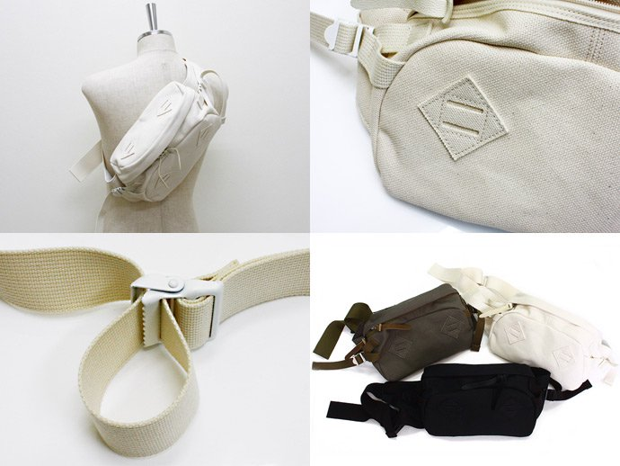 33731269 This is... / Canvas Waist Bag - Natural 02