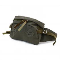 This is... This is... / Canvas Waist Bag - Olive