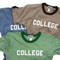 TAURUS / 70/30 College Gym T-shirts プリントTシャツ 全3色