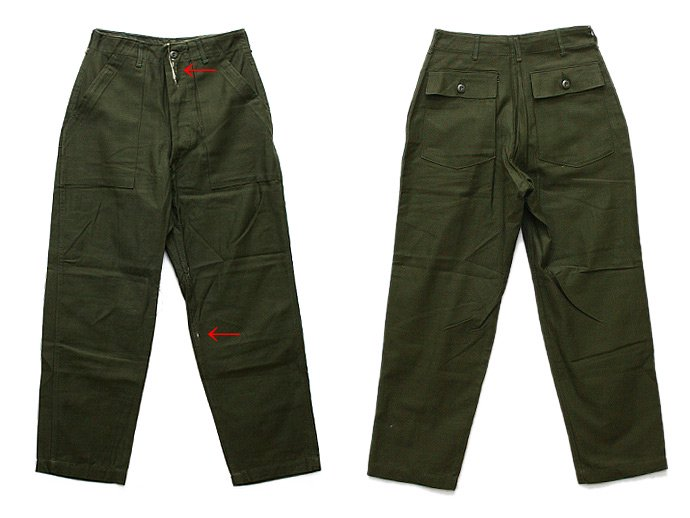 EHS Vintage Deadstock U.S. Army Utility Trousers - W30 L29 DBL<img class='new_mark_img2' src='//img.shop-pro.jp/img/new/icons47.gif' style='border:none;display:inline;margin:0px;padding:0px;width:auto;' /> 02