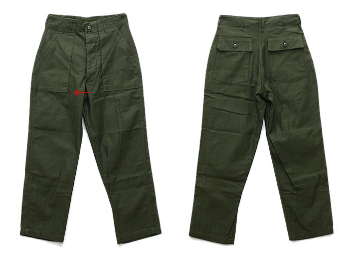 EHS Vintage Deadstock U.S. Army Utility Trousers - W30 L29 DRF<img class='new_mark_img2' src='//img.shop-pro.jp/img/new/icons47.gif' style='border:none;display:inline;margin:0px;padding:0px;width:auto;' /> 02