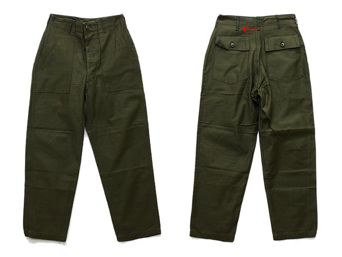 EHS Vintage Deadstock U.S. Army Utility Trousers - W30 L29 DLP<img class='new_mark_img2' src='//img.shop-pro.jp/img/new/icons47.gif' style='border:none;display:inline;margin:0px;padding:0px;width:auto;' /> 02