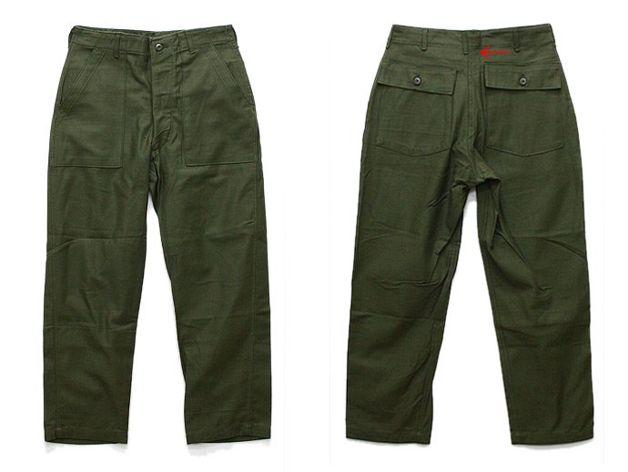 EHS Vintage Deadstock U.S. Army Utility Trousers - W32 L29 DCL<img class='new_mark_img2' src='//img.shop-pro.jp/img/new/icons47.gif' style='border:none;display:inline;margin:0px;padding:0px;width:auto;' /> 02