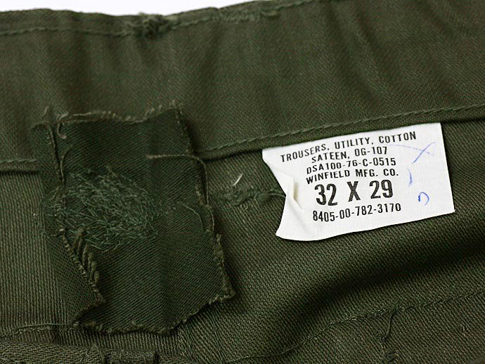 34494455 Deadstock U.S. Army Utility Trousers - W32 L29 DCL<img class='new_mark_img2' src='//img.shop-pro.jp/img/new/icons47.gif' style='border:none;display:inline;margin:0px;padding:0px;width:auto;' /> 02