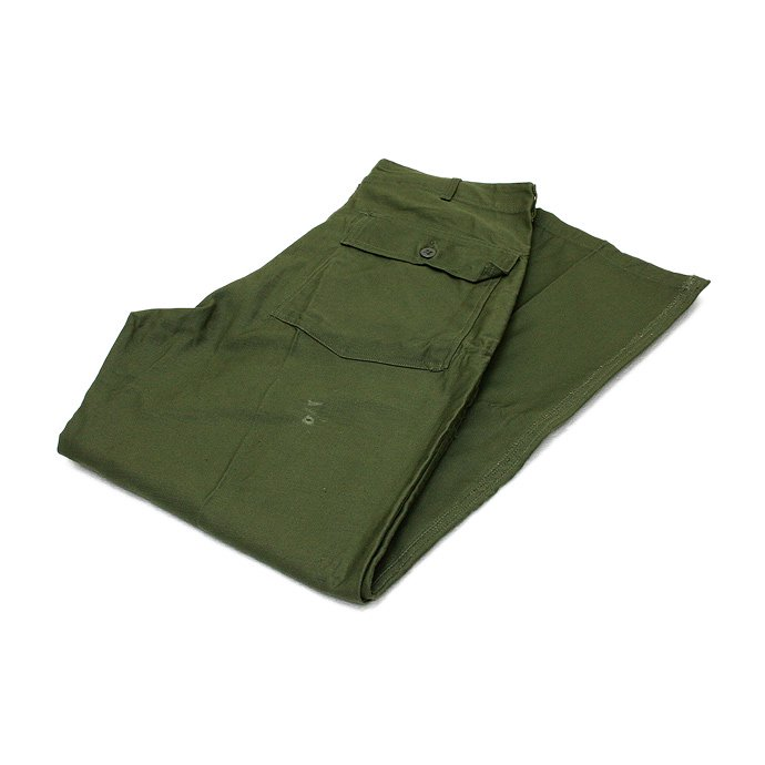 EHS Vintage '60s Deadstock U.S. Army Utility Trousers - W34 L33 DRD<img class='new_mark_img2' src='//img.shop-pro.jp/img/new/icons47.gif' style='border:none;display:inline;margin:0px;padding:0px;width:auto;' /> 01