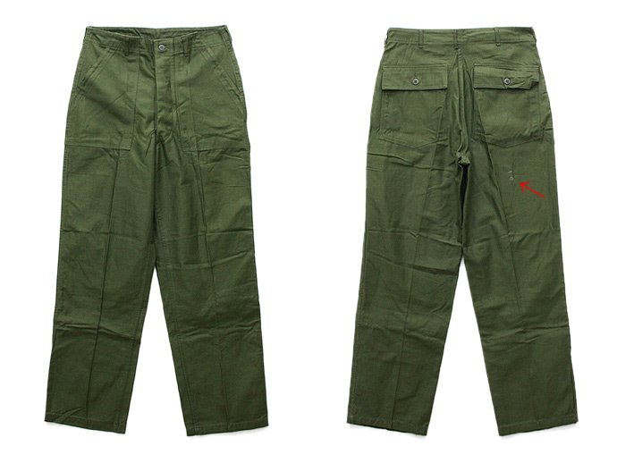 EHS Vintage '60s Deadstock U.S. Army Utility Trousers - W34 L33 DRD<img class='new_mark_img2' src='//img.shop-pro.jp/img/new/icons47.gif' style='border:none;display:inline;margin:0px;padding:0px;width:auto;' /> 02