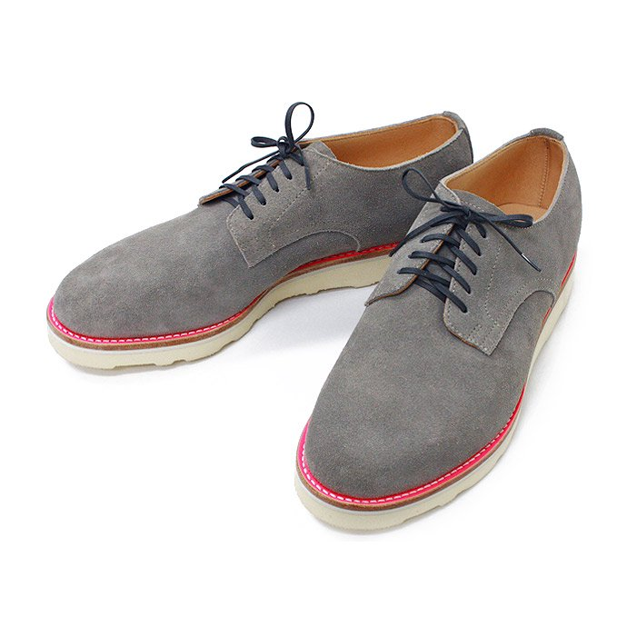 This is... Suede Derby Shoe スウェード プレーントゥ - Grey<img class='new_mark_img2' src='//img.shop-pro.jp/img/new/icons47.gif' style='border:none;display:inline;margin:0px;padding:0px;width:auto;' /> 01