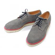 This is... / Suede Derby Shoe スウェード プレーントゥ - Grey