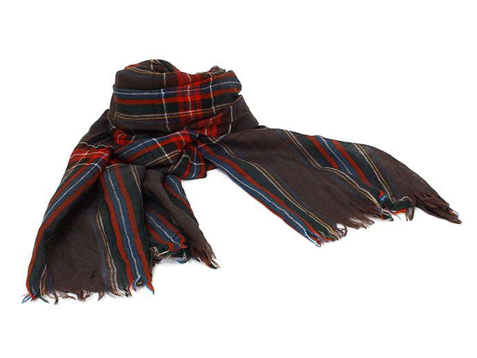 Other Brands erfurt / Tartan Scarf - Black<img class='new_mark_img2' src='//img.shop-pro.jp/img/new/icons47.gif' style='border:none;display:inline;margin:0px;padding:0px;width:auto;' /> 02