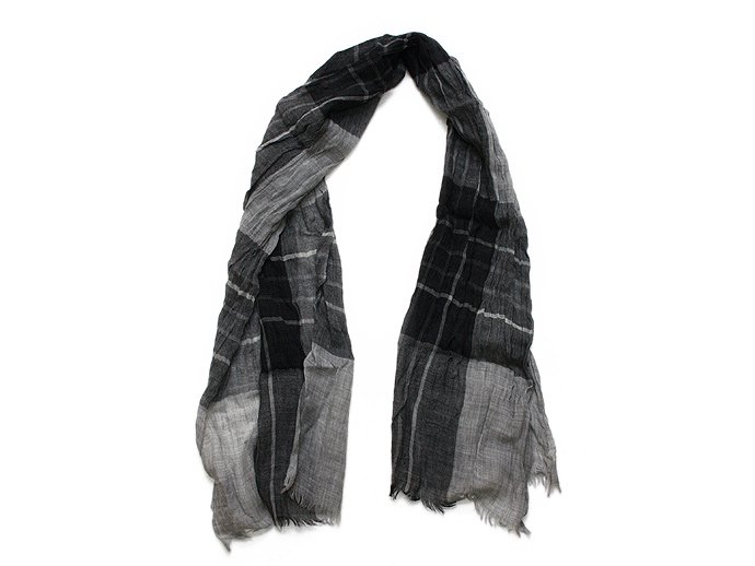 Other Brands erfurt / Tartan Scarf - Grey<img class='new_mark_img2' src='//img.shop-pro.jp/img/new/icons47.gif' style='border:none;display:inline;margin:0px;padding:0px;width:auto;' /> 02