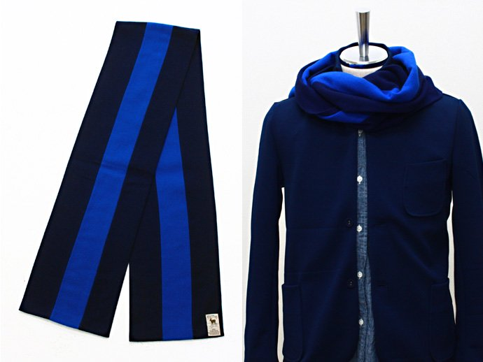 Other Brands HILLTOP / School Scarf - Navy<img class='new_mark_img2' src='//img.shop-pro.jp/img/new/icons47.gif' style='border:none;display:inline;margin:0px;padding:0px;width:auto;' /> 02