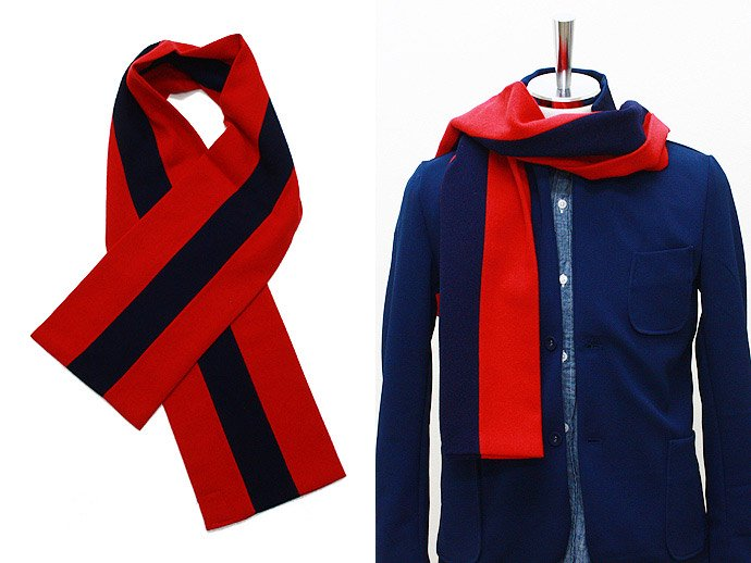 Other Brands HILLTOP / School Scarf - Red<img class='new_mark_img2' src='//img.shop-pro.jp/img/new/icons47.gif' style='border:none;display:inline;margin:0px;padding:0px;width:auto;' /> 02