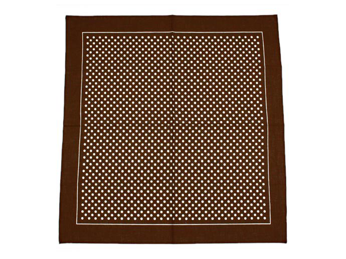 EHS Vintage Blumer / Deadstock Bandana - Dot / Brown<img class='new_mark_img2' src='//img.shop-pro.jp/img/new/icons47.gif' style='border:none;display:inline;margin:0px;padding:0px;width:auto;' /> 02