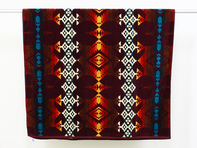 PENDLETON Jacquard Towel - Jerome<img class='new_mark_img2' src='//img.shop-pro.jp/img/new/icons47.gif' style='border:none;display:inline;margin:0px;padding:0px;width:auto;' /> 02