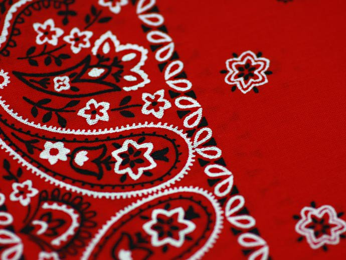 EHS Vintage '90s Deadstock Bandana Made in USA - Red<img class='new_mark_img2' src='//img.shop-pro.jp/img/new/icons47.gif' style='border:none;display:inline;margin:0px;padding:0px;width:auto;' /> 02