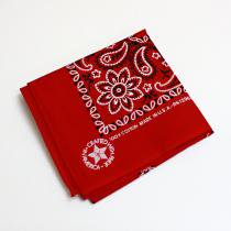 '90s Deadstock Bandana Made in USA - Red