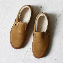 VANS / Classic Slip-On Sherpa - Tan / Medium Gum