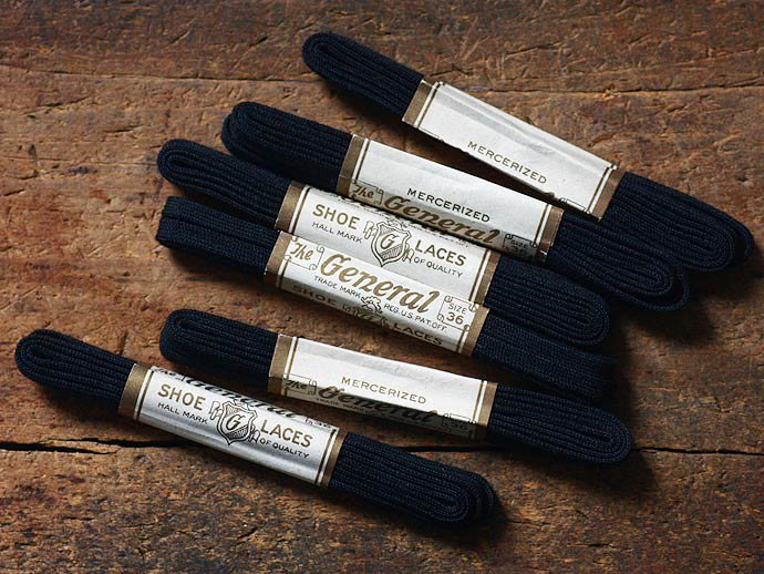 EHS Vintage Deadstock The General Old Shoe Laces<img class='new_mark_img2' src='//img.shop-pro.jp/img/new/icons47.gif' style='border:none;display:inline;margin:0px;padding:0px;width:auto;' /> 02