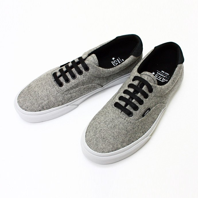 VANS Era 59 CA - Grey Wool<img class='new_mark_img2' src='//img.shop-pro.jp/img/new/icons47.gif' style='border:none;display:inline;margin:0px;padding:0px;width:auto;' /> 01
