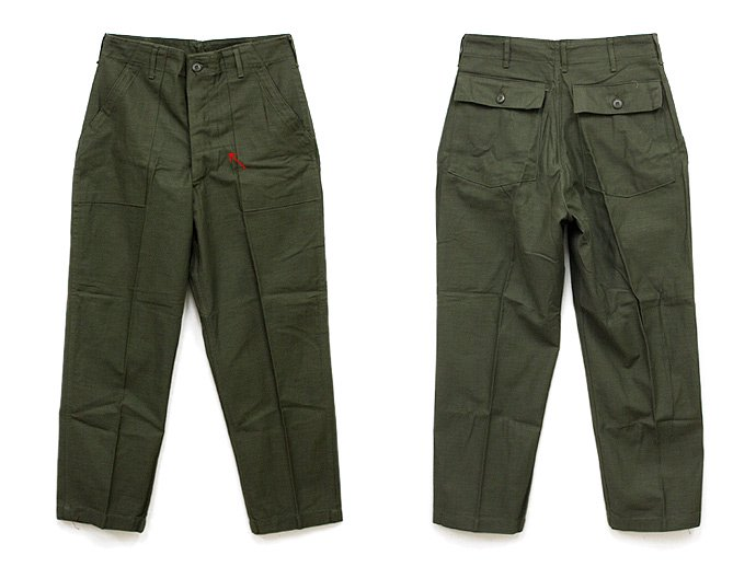 EHS Vintage Deadstock U.S. Army Utility Trousers - W32 L29 DLF<img class='new_mark_img2' src='//img.shop-pro.jp/img/new/icons47.gif' style='border:none;display:inline;margin:0px;padding:0px;width:auto;' /> 02
