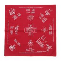 Other Brands The Printed Image / Nature Facts Bandanas - First Aid(ブリンテッドイメージ/ネイチャープリントバンダナ ファーストエイド) <img class='new_mark_img2' src='//img.shop-pro.jp/img/new/icons47.gif' style='border:none;display:inline;margin:0px;padding:0px;width:auto;' />