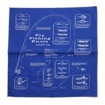 Other Brands The Printed Image / Nature Facts Bandanas - Fly Fishing Knots ブリンテッドイメージ/ネイチャープリントバンダナ