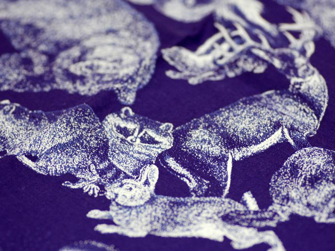 Other Brands The Printed Image / Nature Facts Bandanas - Animal Tracks(ブリンテッドイメージ/ネイチャープリントバンダナ アニマルトラックス)<img class='new_mark_img2' src='//img.shop-pro.jp/img/new/icons47.gif' style='border:none;display:inline;margin:0px;padding:0px;width:auto;' /> 02