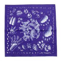 Other Brands The Printed Image / Nature Facts Bandanas - Animal Tracks(ブリンテッドイメージ/ネイチャープリントバンダナ アニマルトラックス)<img class='new_mark_img2' src='//img.shop-pro.jp/img/new/icons47.gif' style='border:none;display:inline;margin:0px;padding:0px;width:auto;' />