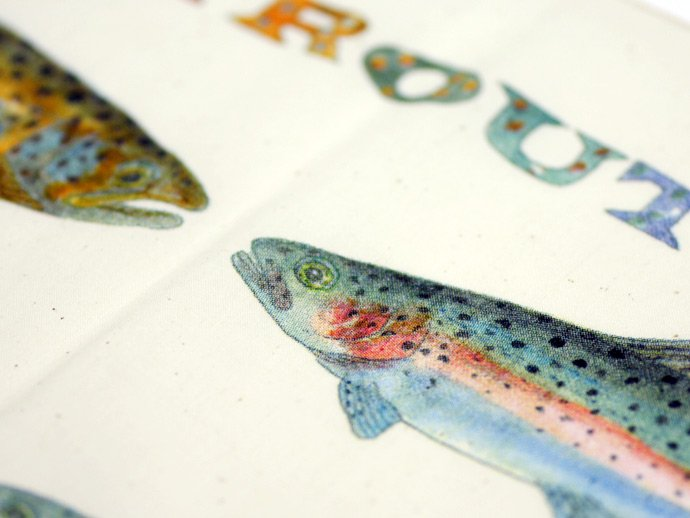 Other Brands The Printed Image / Nature Facts Bandanas - Trout(ブリンテッドイメージ/ネイチャープリントバンダナ トラウト) <img class='new_mark_img2' src='//img.shop-pro.jp/img/new/icons47.gif' style='border:none;display:inline;margin:0px;padding:0px;width:auto;' /> 02