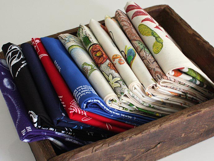 Other Brands The Printed Image / Nature Facts Bandanas - Fly Fishing Hooks(ブリンテッドイメージ/ネイチャープリントバンダナ フライ)<img class='new_mark_img2' src='//img.shop-pro.jp/img/new/icons47.gif' style='border:none;display:inline;margin:0px;padding:0px;width:auto;' /> 02