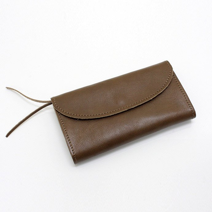 37433270 This is... / Calf Leather Long Wallet - Mocha<img class='new_mark_img2' src='//img.shop-pro.jp/img/new/icons47.gif' style='border:none;display:inline;margin:0px;padding:0px;width:auto;' /> 01
