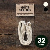 All-Cotton Athletic Shoelaces コットンシューレース - 32インチ 全2色