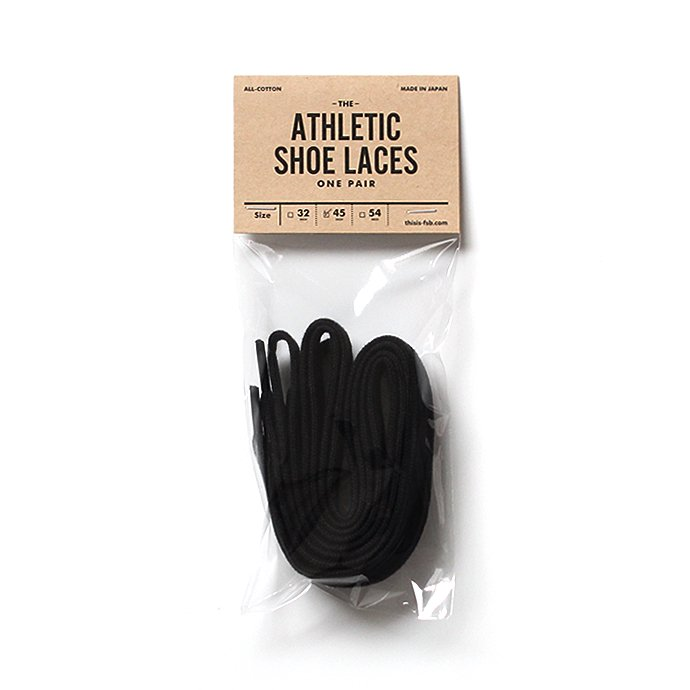 This is... All-Cotton Athletic Shoelaces コットンシューレース - 45インチ 全2色 02