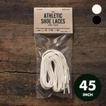 All-Cotton Athletic Shoelaces コットンシューレース - 45インチ 全2色