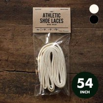 All-Cotton Athletic Shoelaces コットンシューレース - 54インチ 全2色