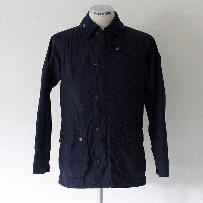 Barbour Bedale SL Washed Cotton Jacket- Navy<img class='new_mark_img2' src='//img.shop-pro.jp/img/new/icons47.gif' style='border:none;display:inline;margin:0px;padding:0px;width:auto;' /> 01