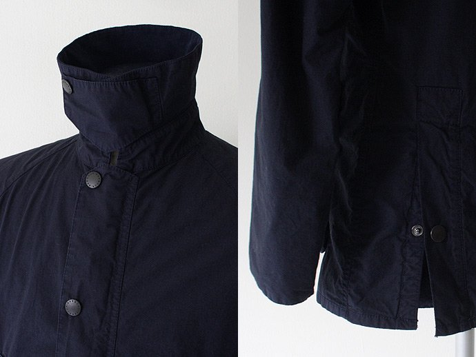 Barbour Bedale SL Washed Cotton Jacket- Navy<img class='new_mark_img2' src='//img.shop-pro.jp/img/new/icons47.gif' style='border:none;display:inline;margin:0px;padding:0px;width:auto;' /> 02