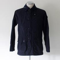 Barbour Bedale SL Washed Cotton Jacket- Navy<img class='new_mark_img2' src='//img.shop-pro.jp/img/new/icons47.gif' style='border:none;display:inline;margin:0px;padding:0px;width:auto;' />