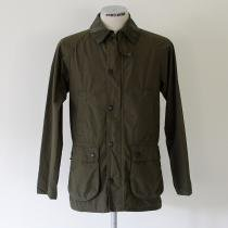 Barbour Bedale SL Washed Cotton Jacket - Olive<img class='new_mark_img2' src='//img.shop-pro.jp/img/new/icons47.gif' style='border:none;display:inline;margin:0px;padding:0px;width:auto;' />